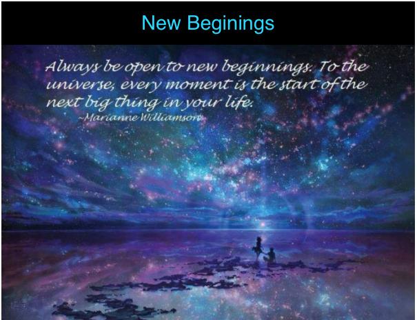 new-beginings