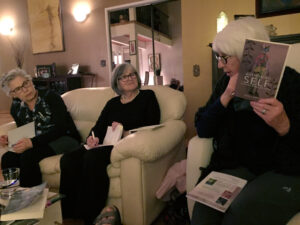 the Oasis Sisters Reading Circle